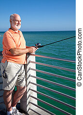 Senior Loves to Fish