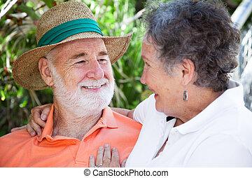 Senior Man in Love