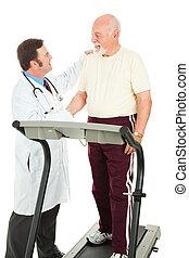 Senior Man Passes Fitness Test