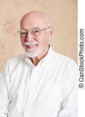 Senior Man with Glasses - Portrait