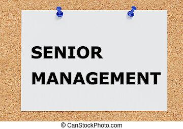 Senior Management concept