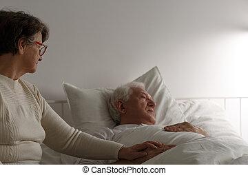 Senior marriage cherish last days - Senior loving marriage...