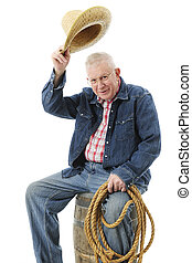 Tipping his hat Stock Photo Images. 81 Tipping his hat royalty free ... e02898dc0c19