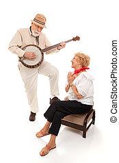 senior, serenad