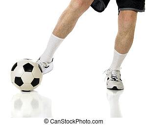 Senior Soccer Kick