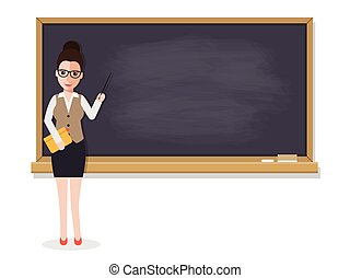 Senior teacher teaching student in classroom - Senior...