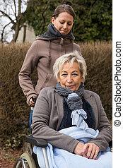 senior woman, felnőtt