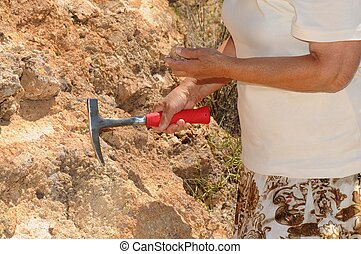 Senior Woman Geologist