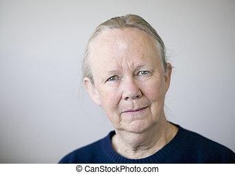 Senior Woman - Portrait of a senior woman