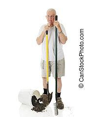 Senior Yard Worker