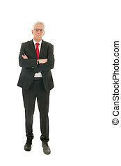 senior, zakenmens