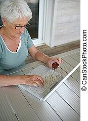 senioren, dame, online kaufen