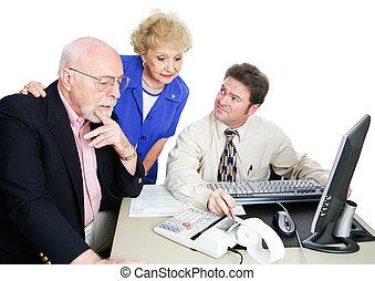 seniores, contabilista