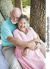 seniores, -, deeply, apaixonadas