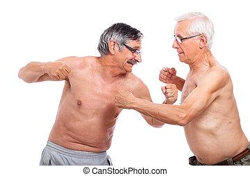 seniores, luta