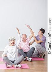 seniors, állóképesség