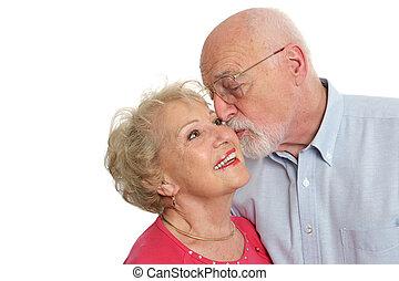 Seniors Affectionate