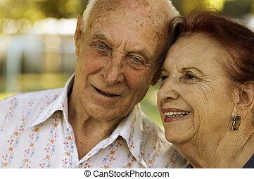 seniors, amor