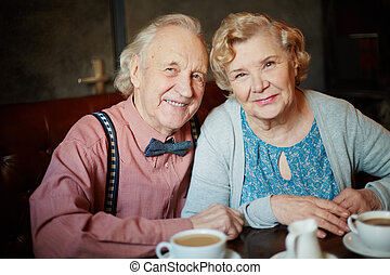 seniors, boldog