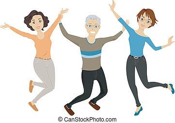 Seniors Jump Shot