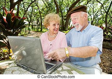 Seniors Surf The Web