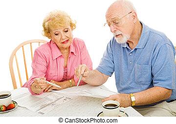 seniors, votación, de, hogar