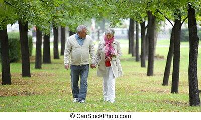 seniorzy, romantyk