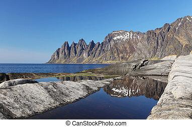 senja, Insel, norwegen