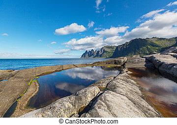 Senja island - Lofoten island, Norway