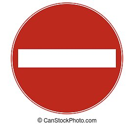 sense signal is forbidden
