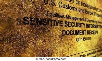 sensible, sécurité, information