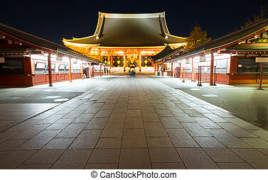 Sensoji temple Tokyo Japan - asakusa Sensoji temple in Tokyo...