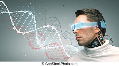 sensors, ガラス, 未来派, 人