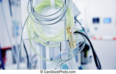 sensors, 在, 醫院沃德, 或者, 手術室