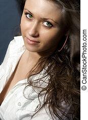 Sensual female model