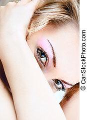 sensueel, blik