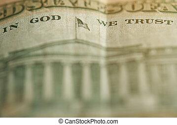 Sentence In god we trust