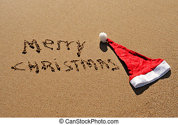 merry christmas - sentence merry christmas written in the...