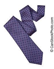 sentier, coupure, cravate
