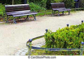 sentier, parc
