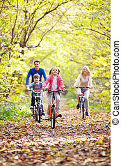 sentiero per cavalcate, bicycles
