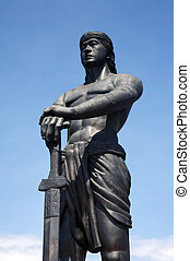 Sentinel of freedom statue - A gift from the Korea freedom...