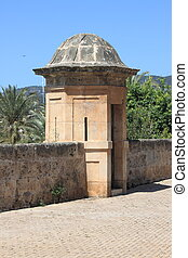 Sentry box at Dalt Murada