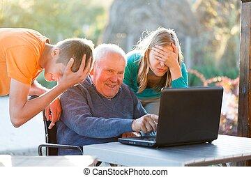 senza speranza, nonno