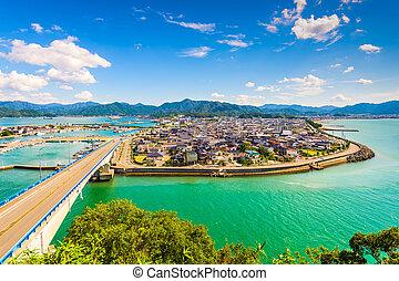 Senzaki in Japan