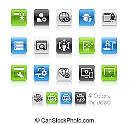 SEO and Digital Marketing Icons 2 of 2 // Clean Series - The...