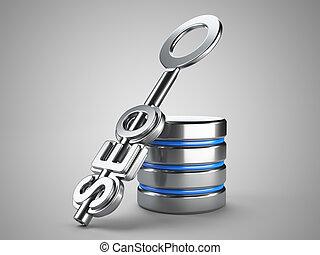 seo, concept, meldingsbord, klee, databank
