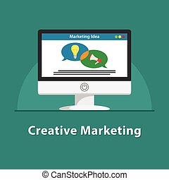 SEO Creative marketing in PC