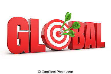 seo, global, cible
