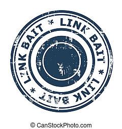 SEO Link Bait concept stamp